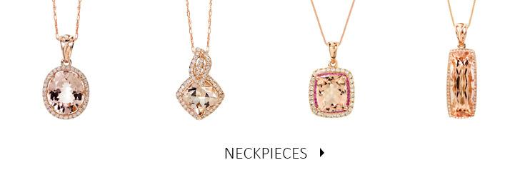 Beautiful and luxurious Diamond and Precious Stone Neckpieces, Necklaces