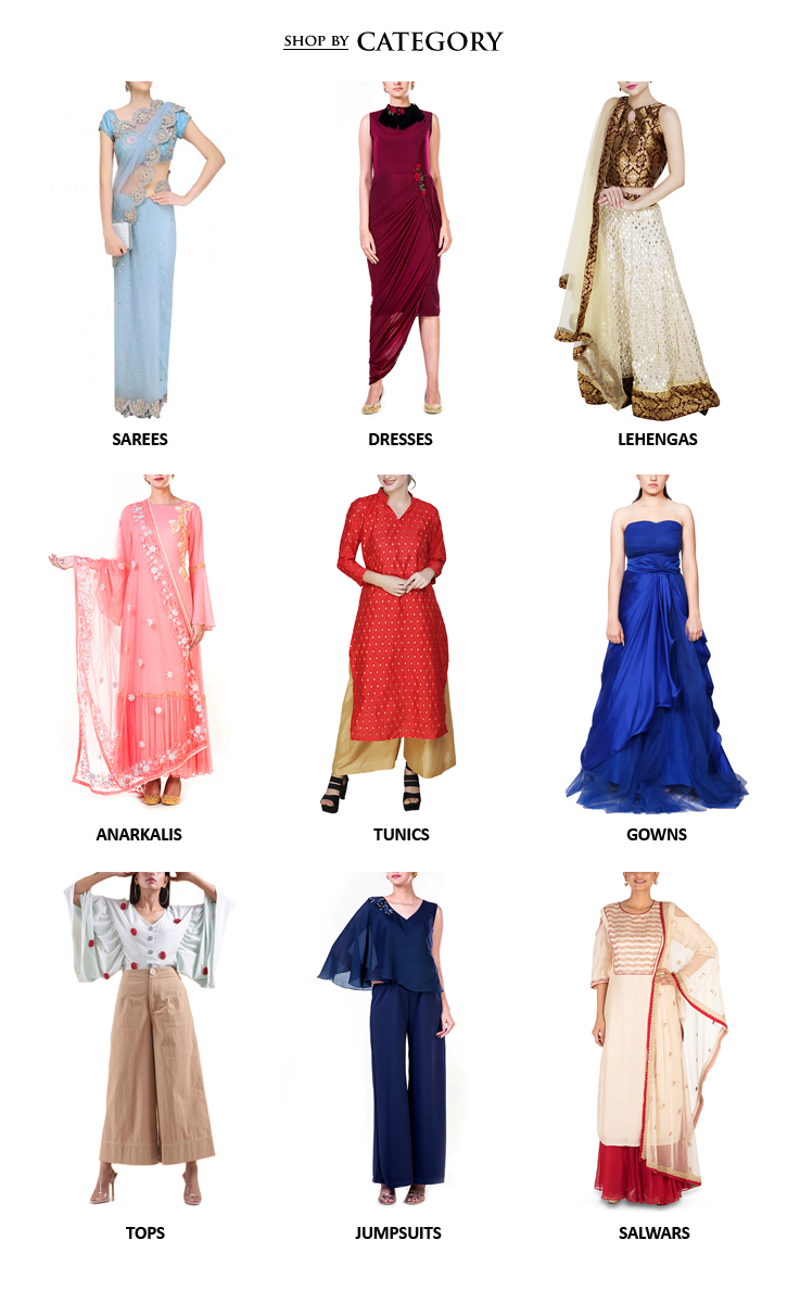 e76f30f2d0 Buy latest Indian designer womenswear including Indian inspired clothes  like Lehengas, Dresses and Sarees,