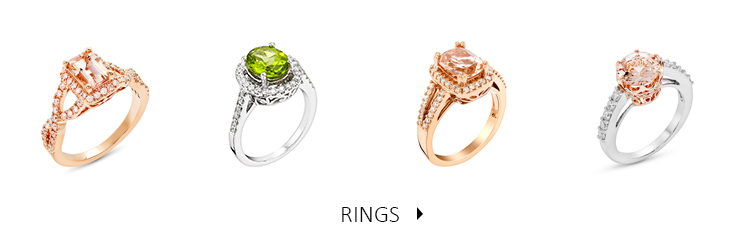 Beautiful and luxurious Diamond and Precious Stone Rings