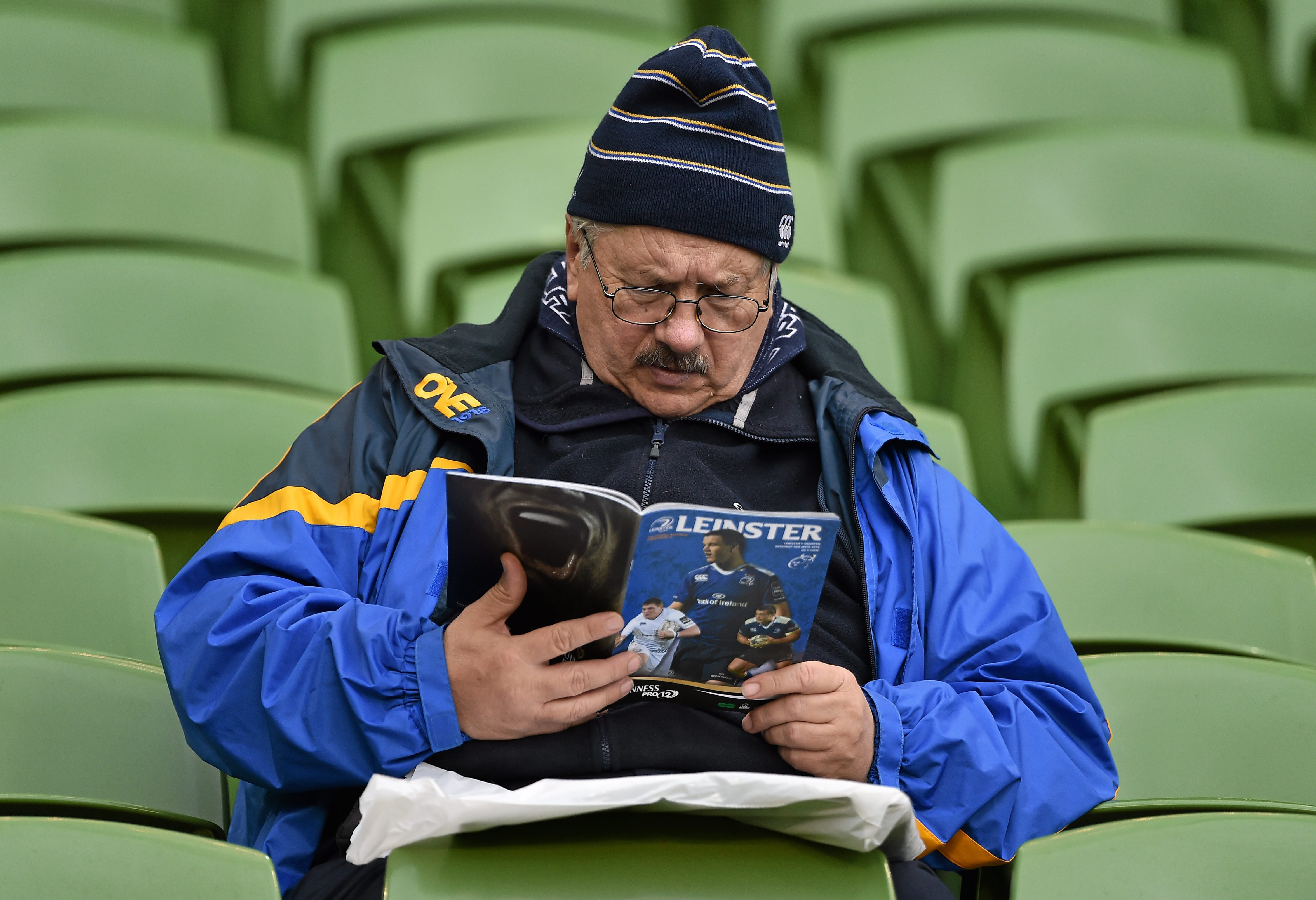 Leinster Rugby match programme