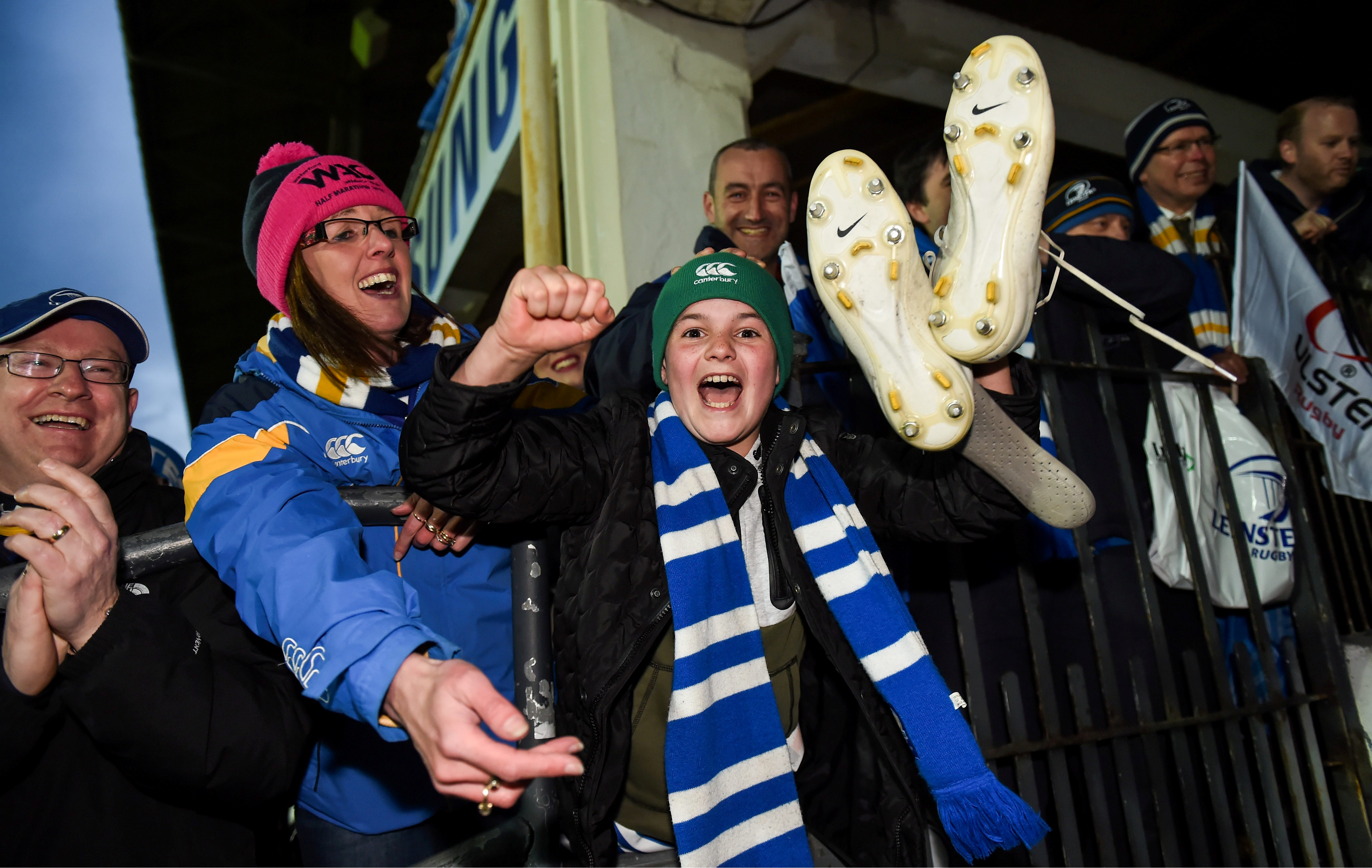 Leinster supporter