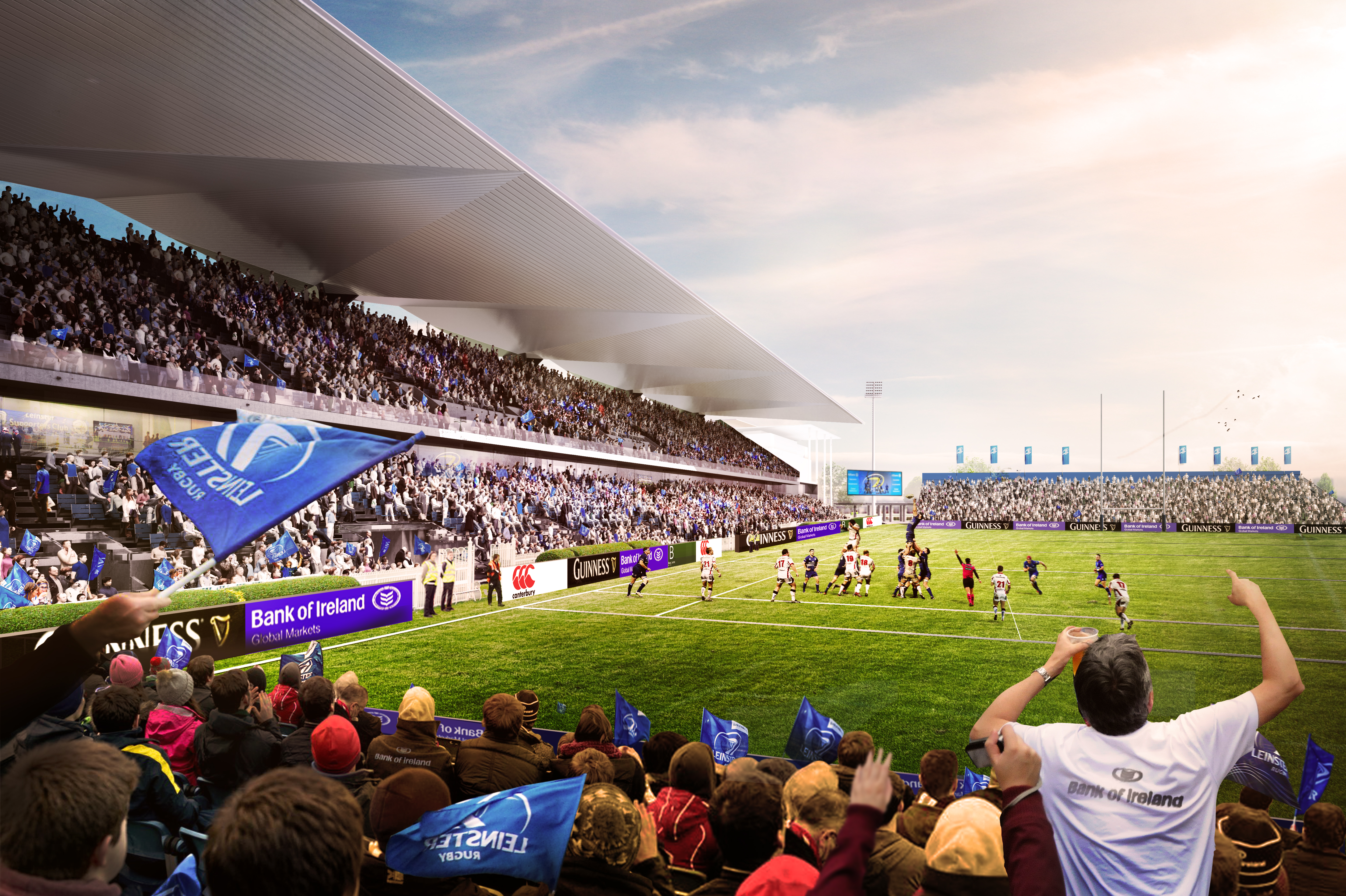 Leinster Rugby Winners Of Rds Arena Redevelopment