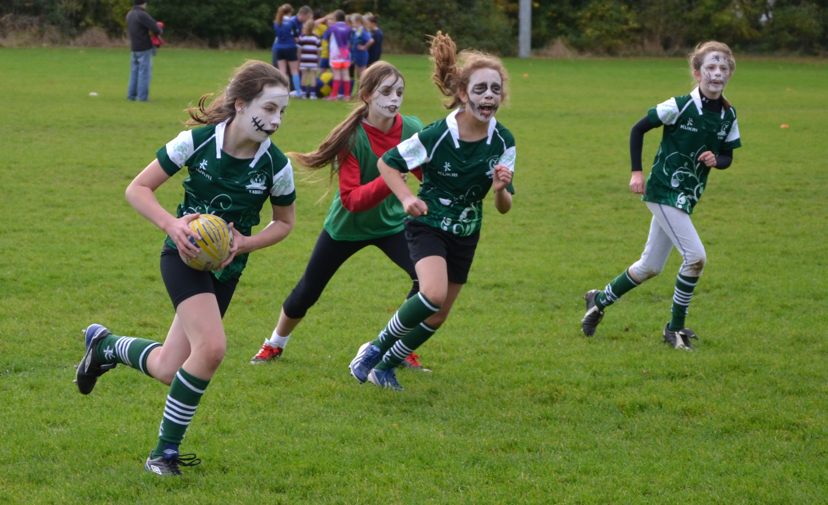 Leinster Rugby Photos Action Packed Barnhall Blitz