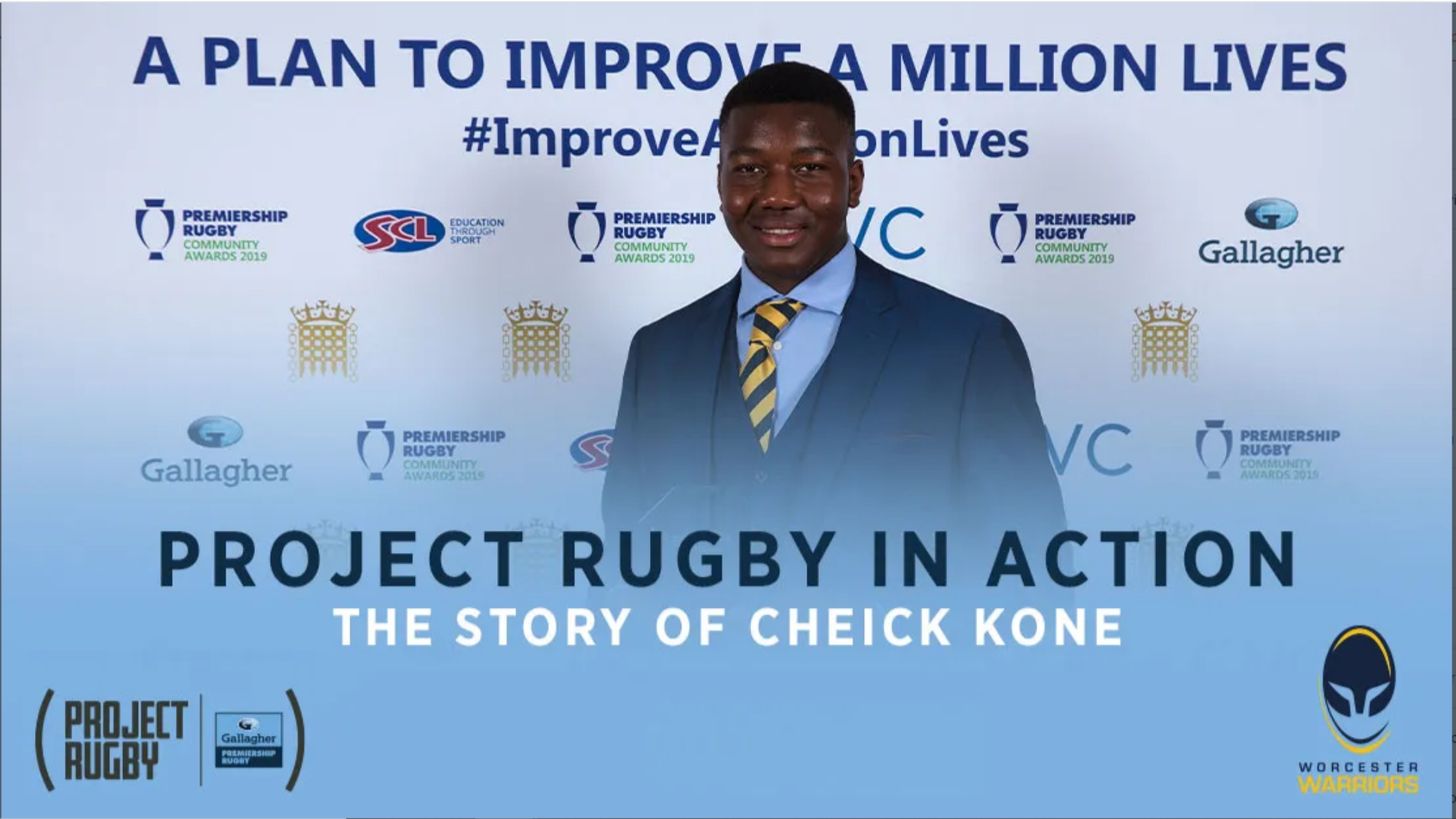 Meet Cheick Kone one of the stars of the Project Rugby programme