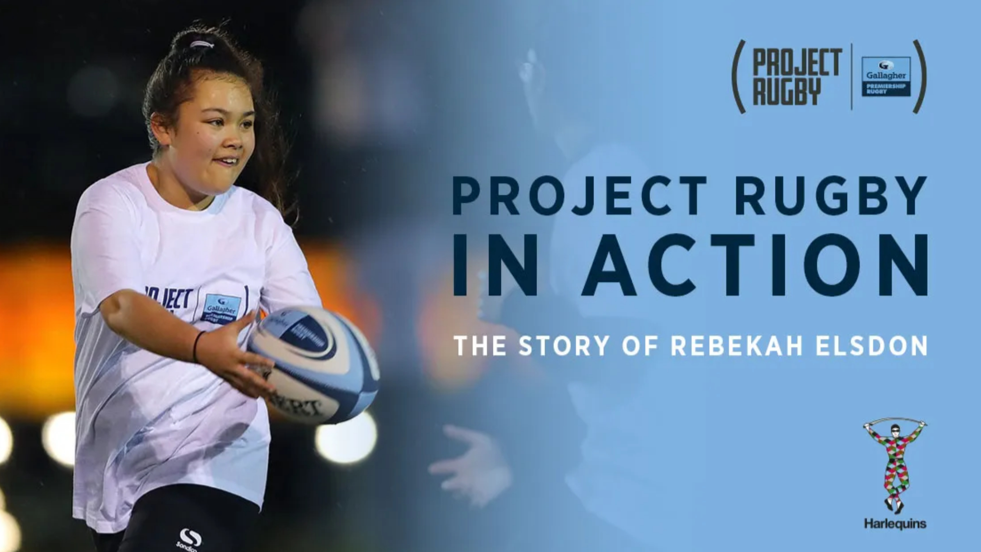 'Project Rugby gave me the confidence and courage to communicate': Rebekah's story