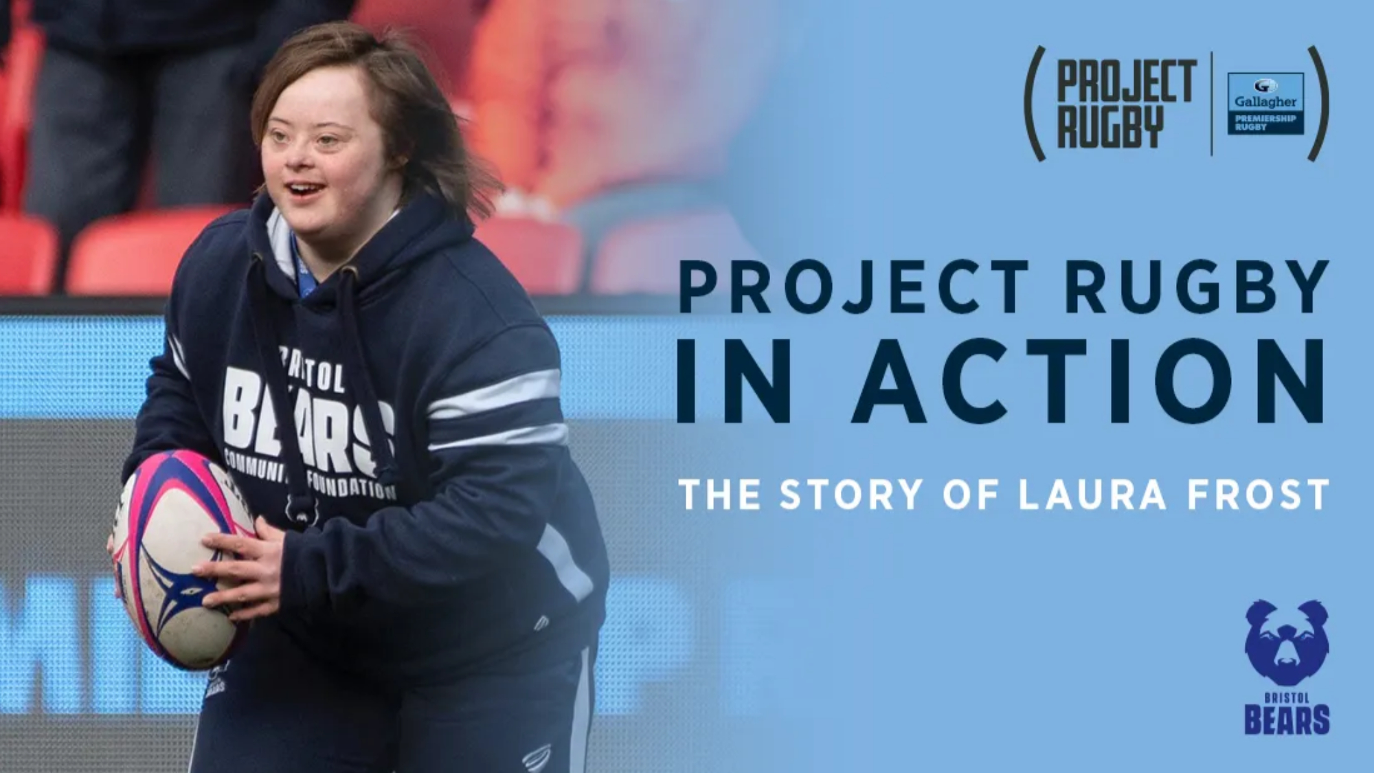 Project Rugby hasn't just changed my life – as a player, coach and volunteer it's helping me inspire the next generation with Bristol Bears