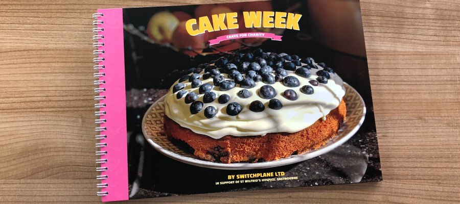 Cover Picture - Dean's Blueberry Cake