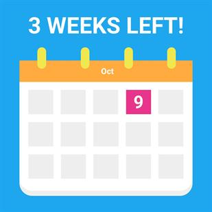 3 weeks left before the next West Sussex Crowd deadline!
