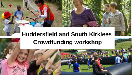 Huddersfield and South Kirklees Crowdfunding workshop