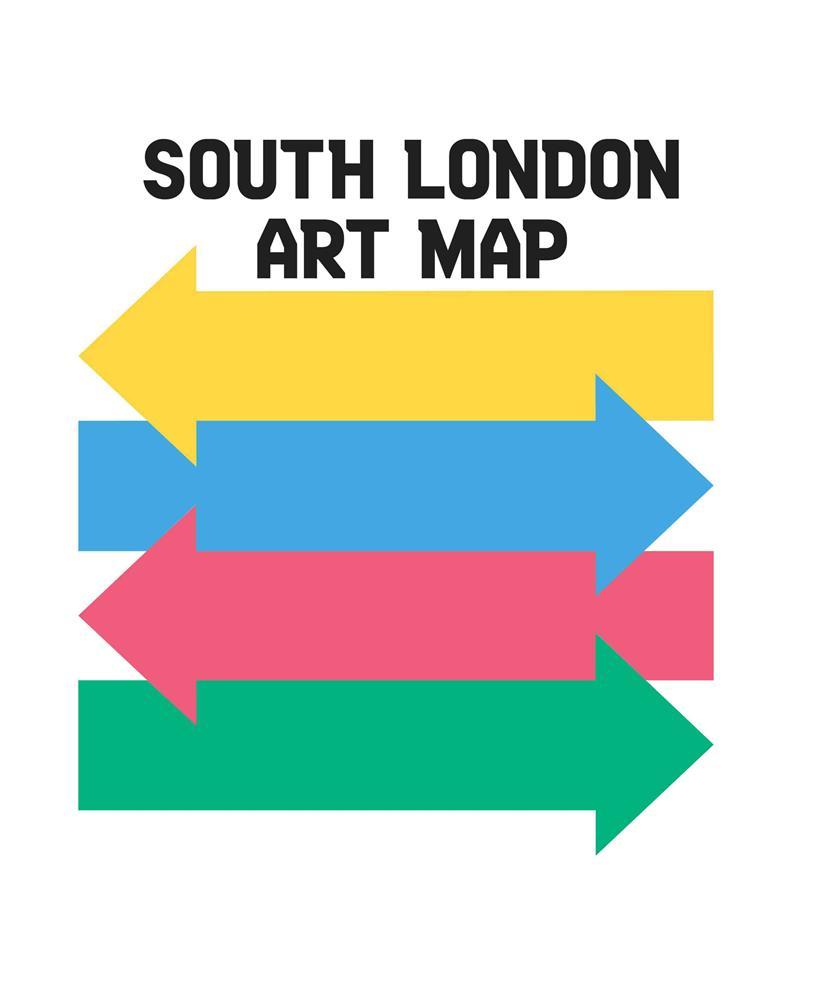 South London Map.South London Art Map
