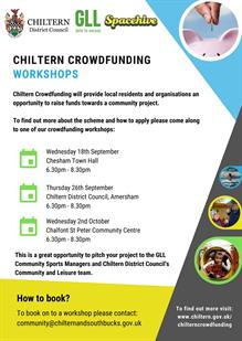 Chiltern Crowdfunding Workshop
