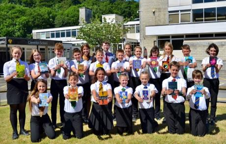 Clevedon School pupils look to raise £12k for library project