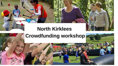 North Kirklees Crowdfunding workshop