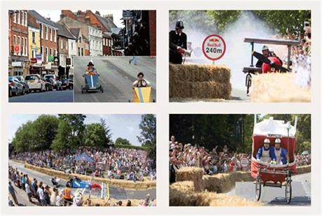 The Micklegate Run Soap Box Challenge took place in York on the 28th of August