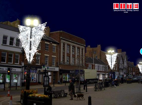Snowfall Led Christmas Lights