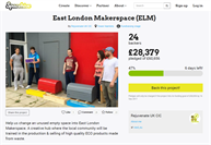 Well done to the East London Makerspace for securing a pledge from the GLA!!