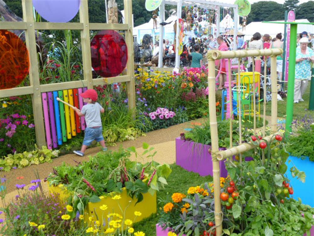 Sensory garden nursery supplies africa for Garden designs for kids