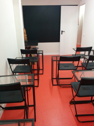 Aula para reuniones, charlas, cursos