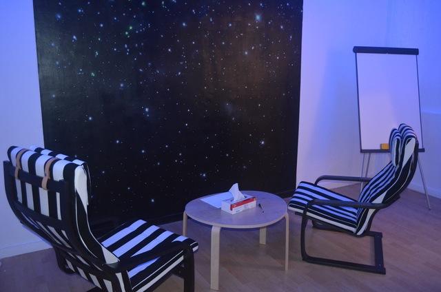 Sala Sensorial Noche Estrellada