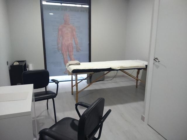 Sala terapias y masajes