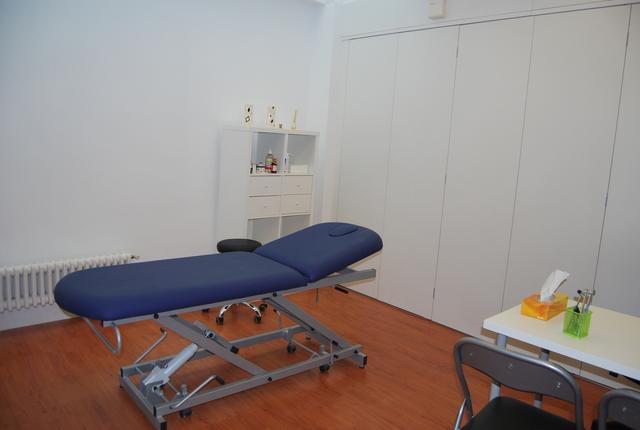 Sala de tratamiento para fisioterapeutas