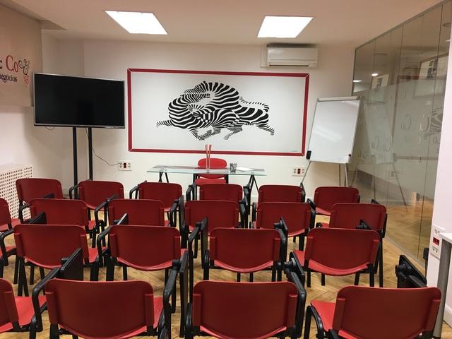 Sala de Formación junto al Estadio Santiago Bernabéu