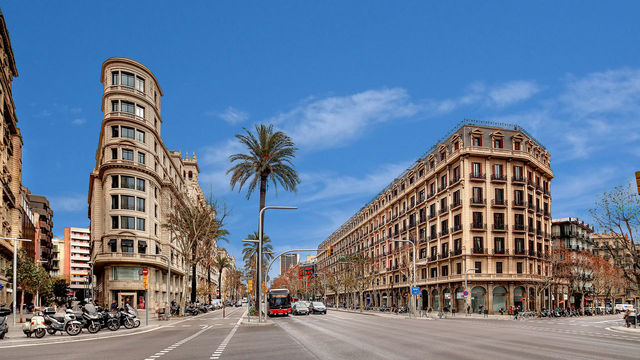 Sala de Reuniones en Avenida Diagonal Barcelona