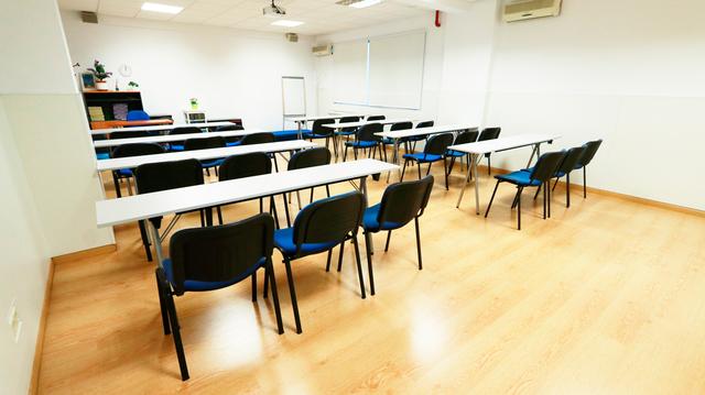 Aula para formación espaciosa en Chamartín