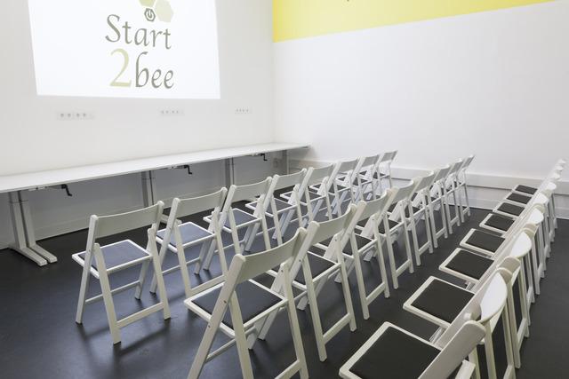 sala de talleres de formación en Madrid
