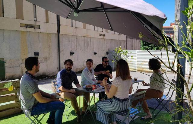 Sala Reuniones Ehub! Coworking (Plaza del Gas - Bilbao)