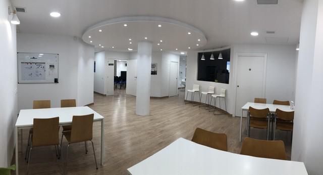 Aula Hipatia- En el centro de Barcelona