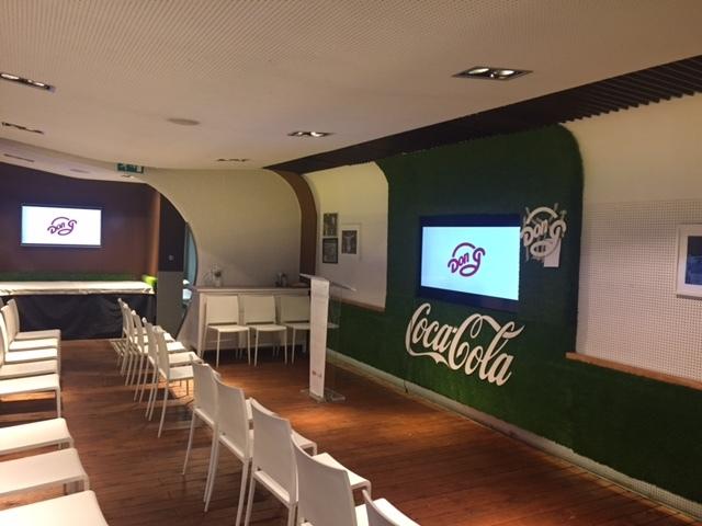 Sala de reuniones Coca Cola