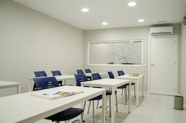Sala Gamma.- Aula de Formación en el barrio de Salamanca