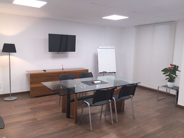 Sala de reuniones en el centro