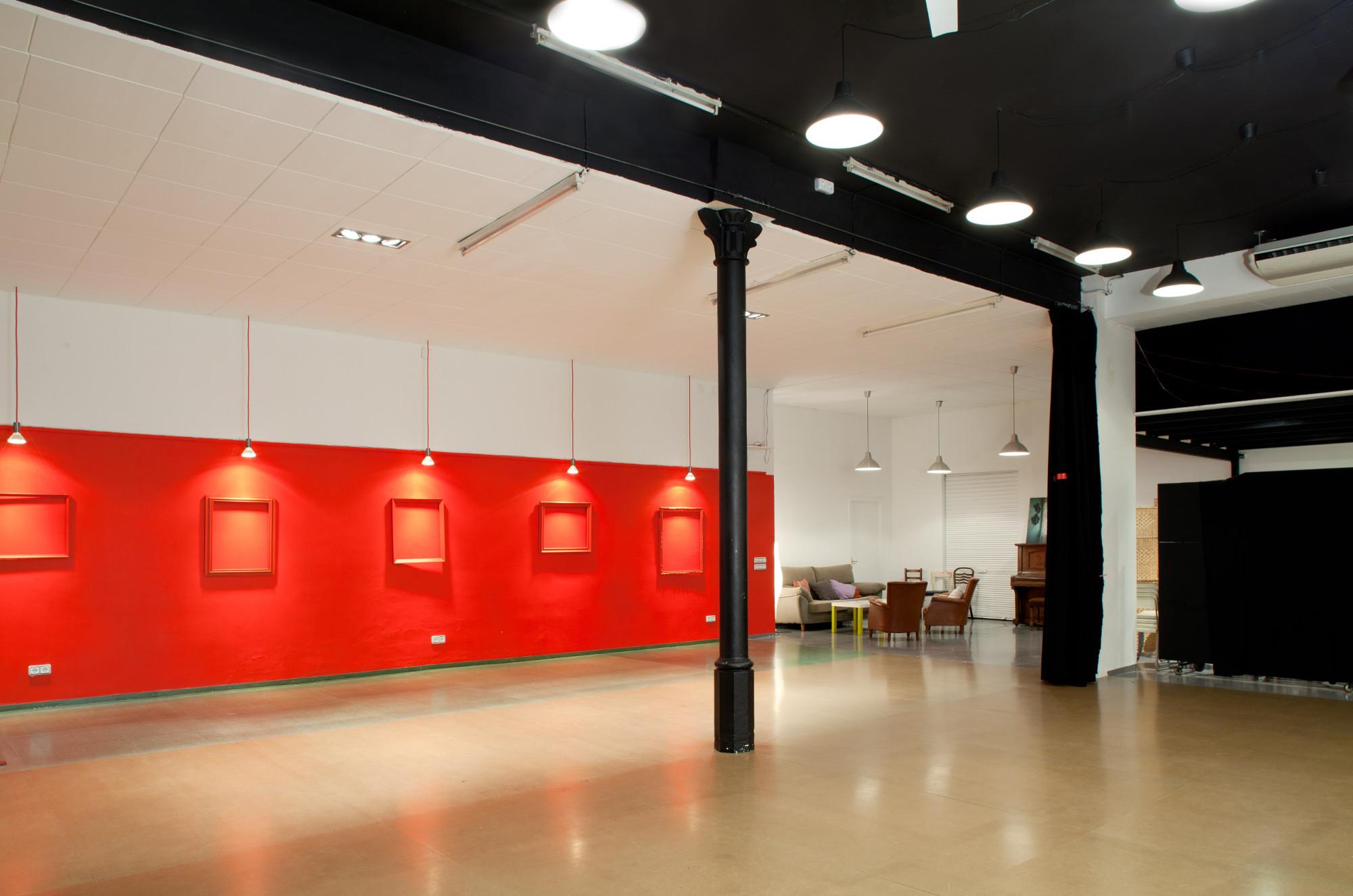 Galería de arte para alquilar en Barcelona