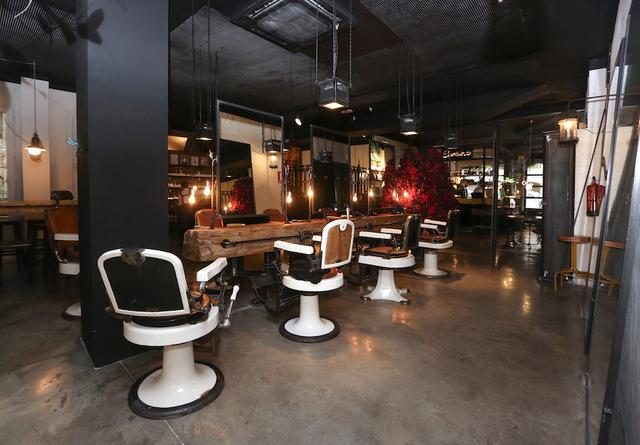 Salón de belleza habilitado para eventos