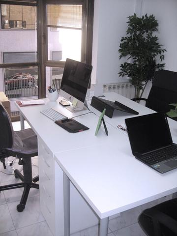 Puesto de Coworking por horas