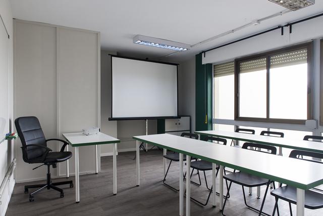La sala M