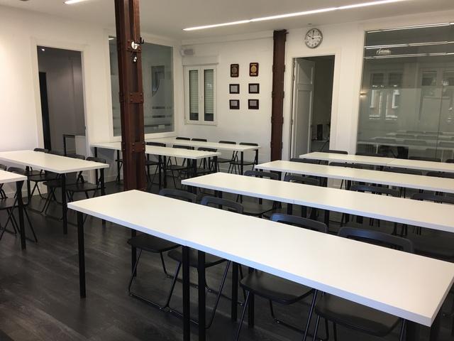 Sala de formaciones reuniones y eventos.