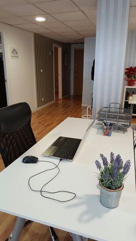 Puesto de coworking indivual por horas