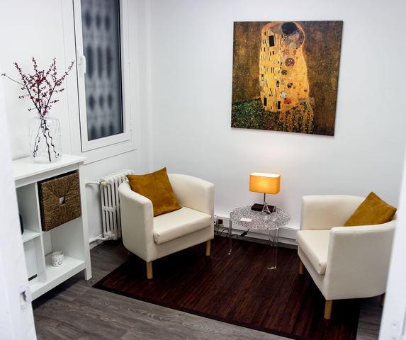 Sala para coaching y psicoterapia