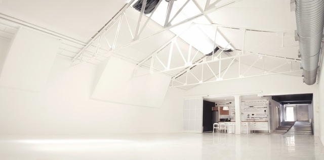 Espacio blanco para Rodajes, Shoottings, Pop-up Stores