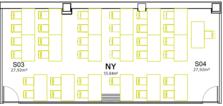 Mediaboxes plano sala ny
