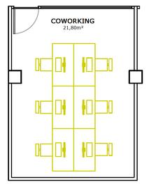 Mediaboxes plano coworking