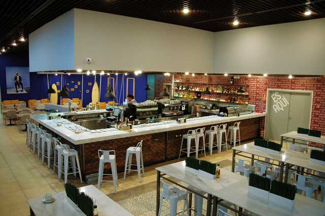 Restaurantes con 3 salas