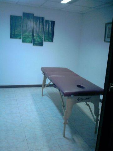 Sala masajes y otras alternativas