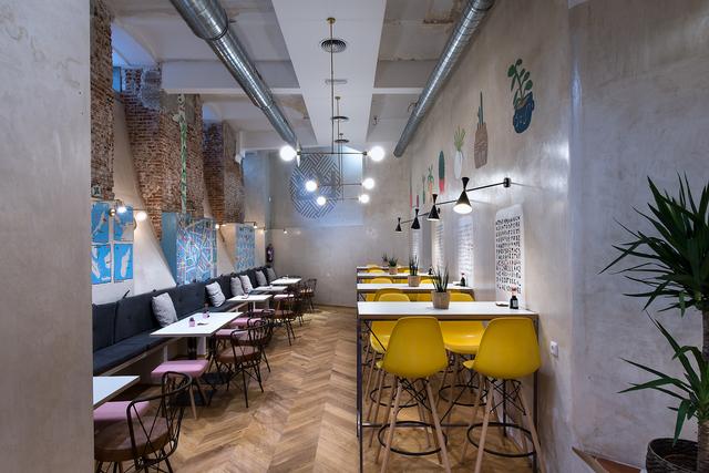 Sala para eventos en restaurante