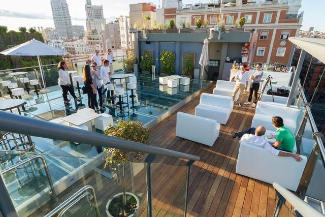Espacio con terraza para alquilar en Madrid