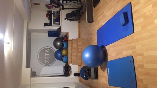 Sala Fisioterapia/ Entrenamiento funcional/ Baile/ grupos reducidos