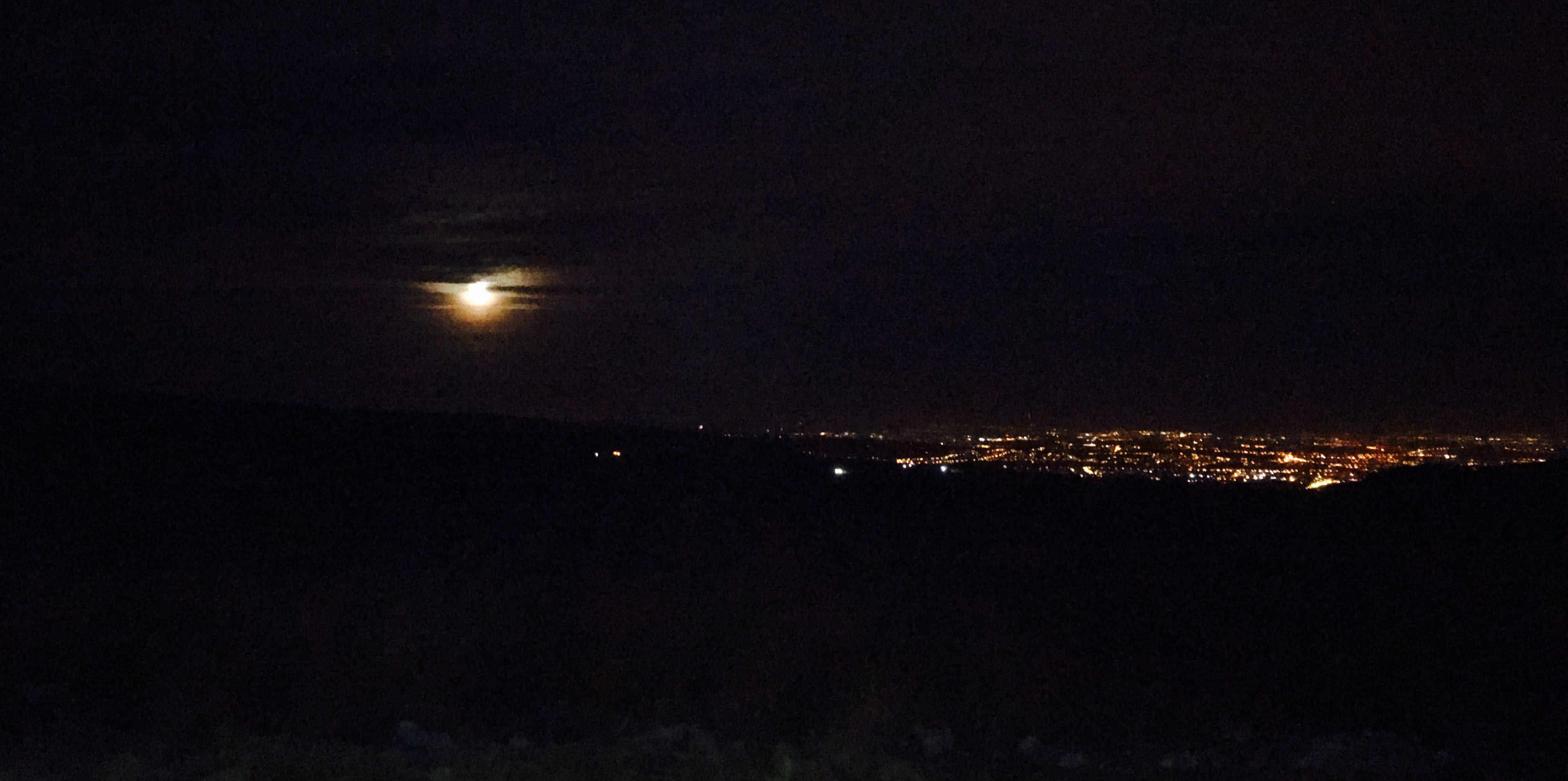 Rivington full moon